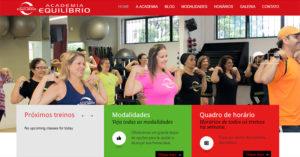 Site Academia Equilibrio